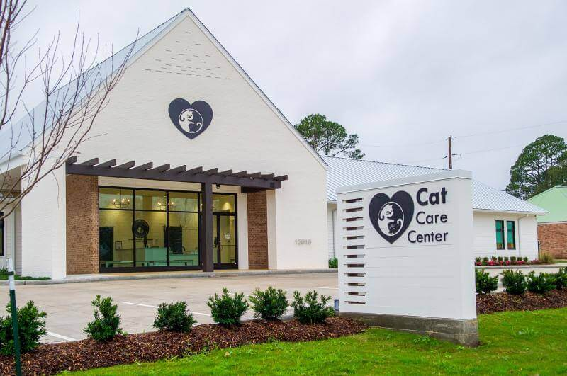 cat care center front building